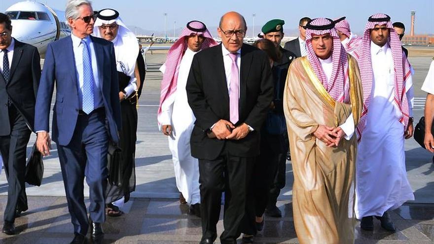 Francia pide en Arabia Saudí que el boicot no afecte a los civiles