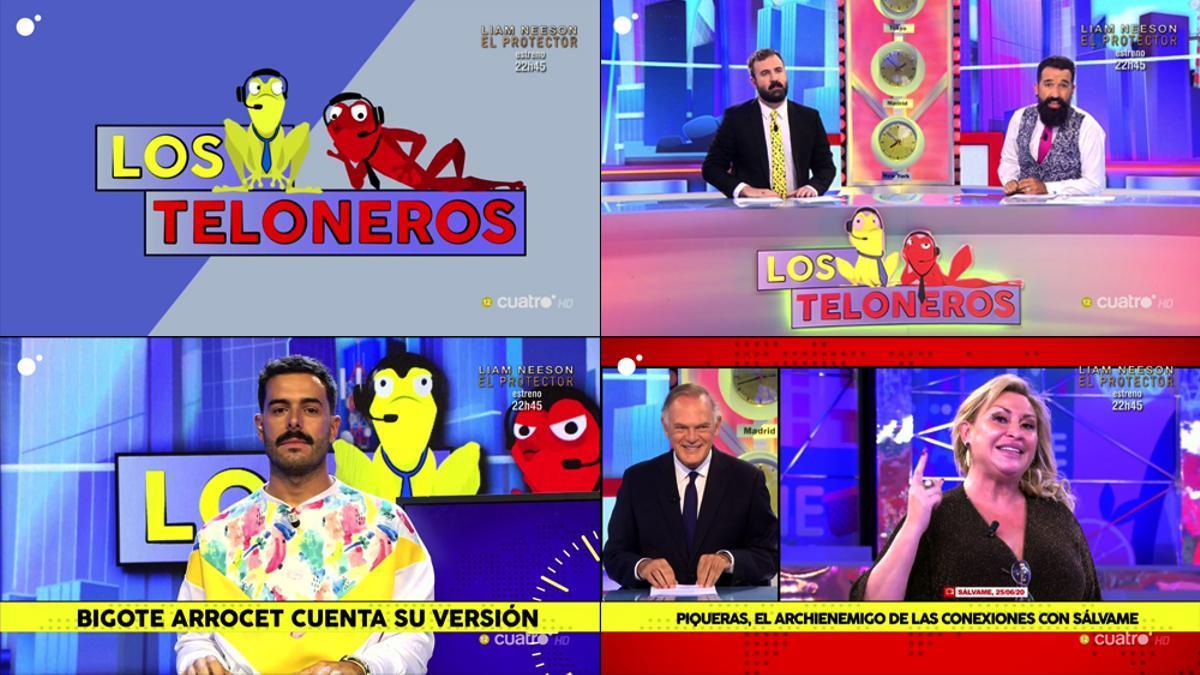 Comienzo de 'Los Teloneros' en Cuatro