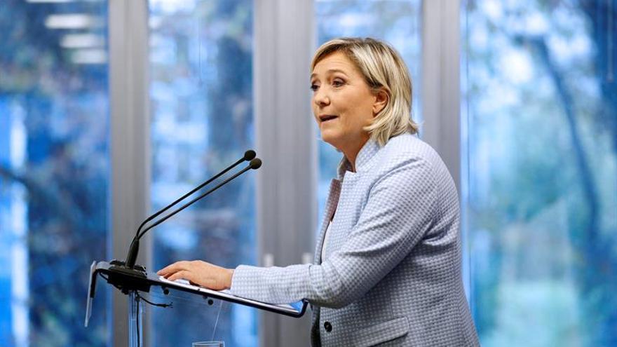 La ultraderechista Le Pen ve el triunfo de Trump como la victoria de la libertad