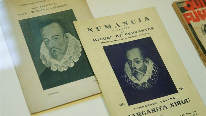 Exponen en Uruguay la primera edición suramericana del Quijote y rarezas cervantinas