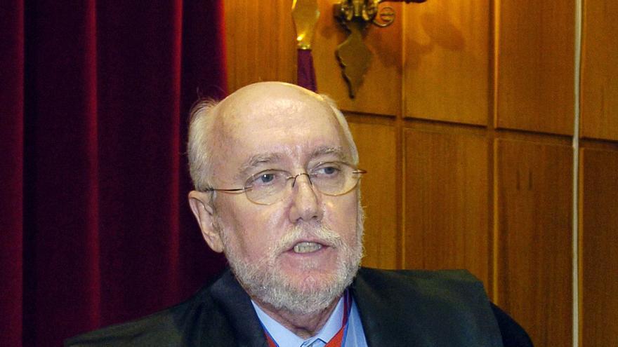 El ex fiscal superior de Murcia Manuel López Bernal, en el año 2008 / J.F.MORENO \ EFE
