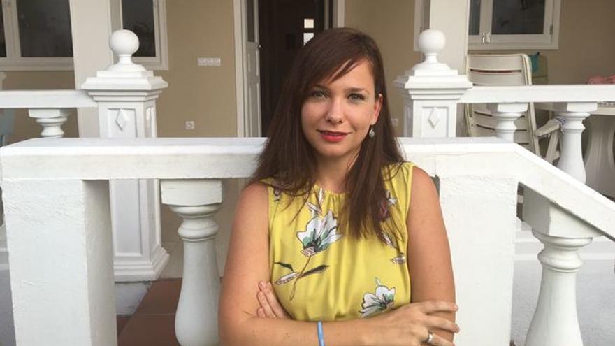 Carla Vallejo es una feminista activa.