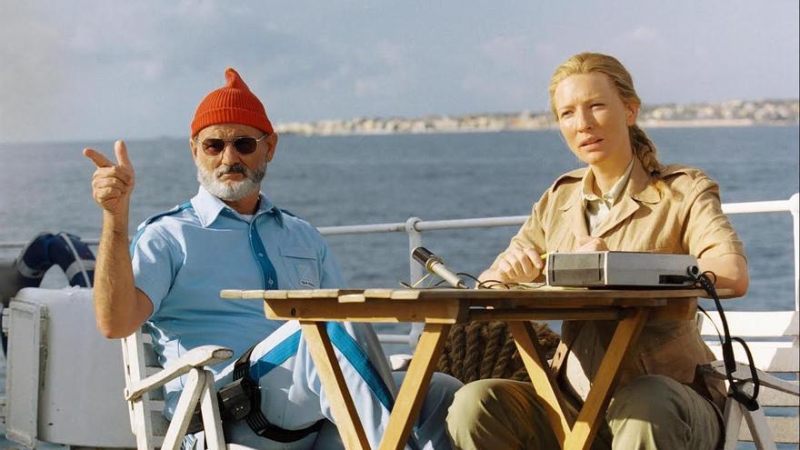 Fotograma de la película Life Aquatic (2004) que se proyectará el 5 de marzo en el Espacio Cultura de CajaCanarias en Santa Cruz de La Palma.