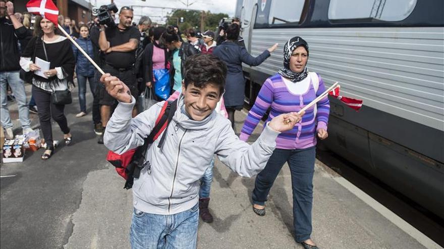 Dinamarca ofrece acoger a 1.000 refugiados de forma voluntaria