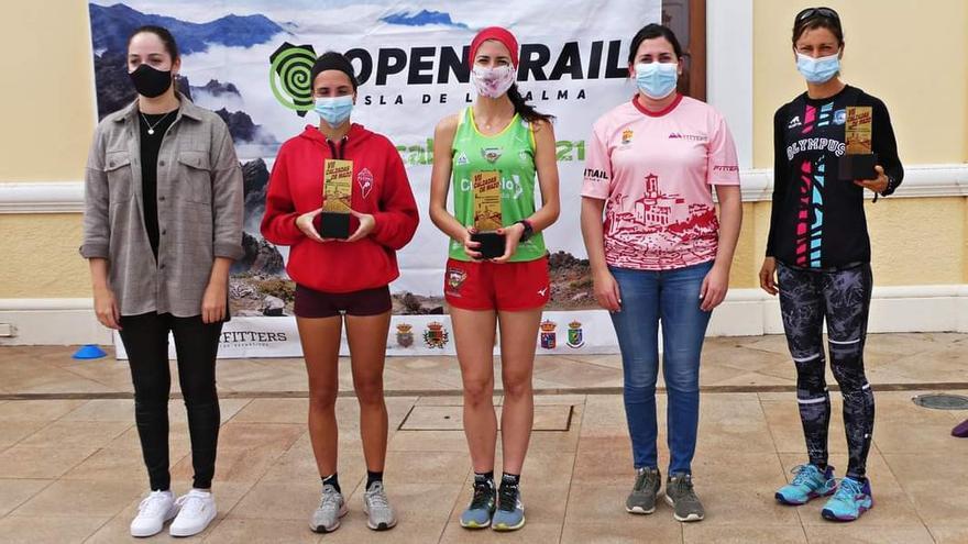 Efrén Segundo y Patricia Domínguez coronan la séptima edición de la vertical 'Calzadas de Mazo'