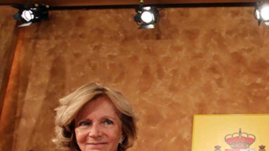 La vicepresidenta segunda del Gobierno y ministra de Economía y Hacienda, Elena