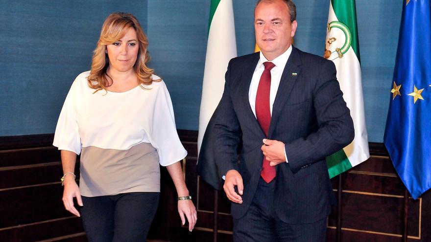 Susana Díaz asegura que su compromiso está con Andalucía y descarta ser candidata a primarias de PSOE