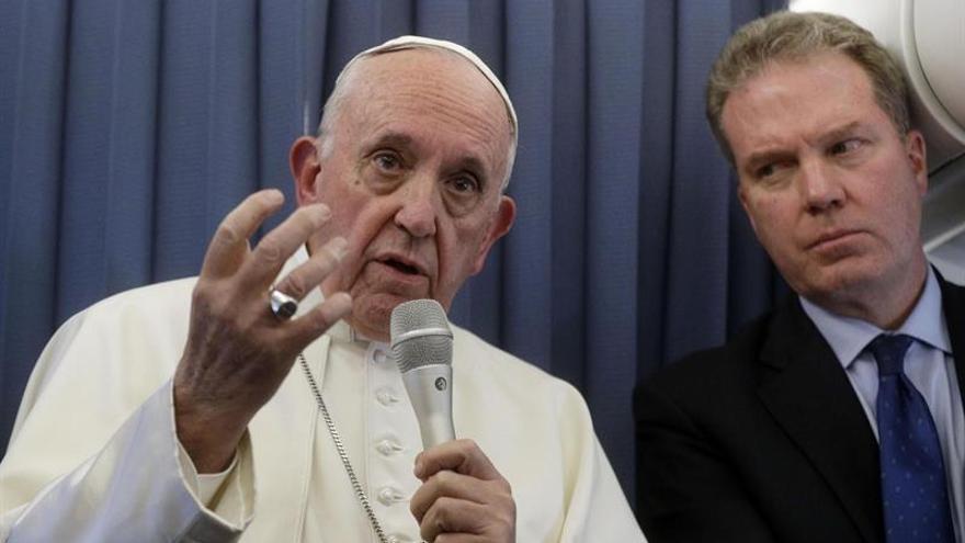 El papa dijo que países deben pensar bien antes de devolver a inmigrantes