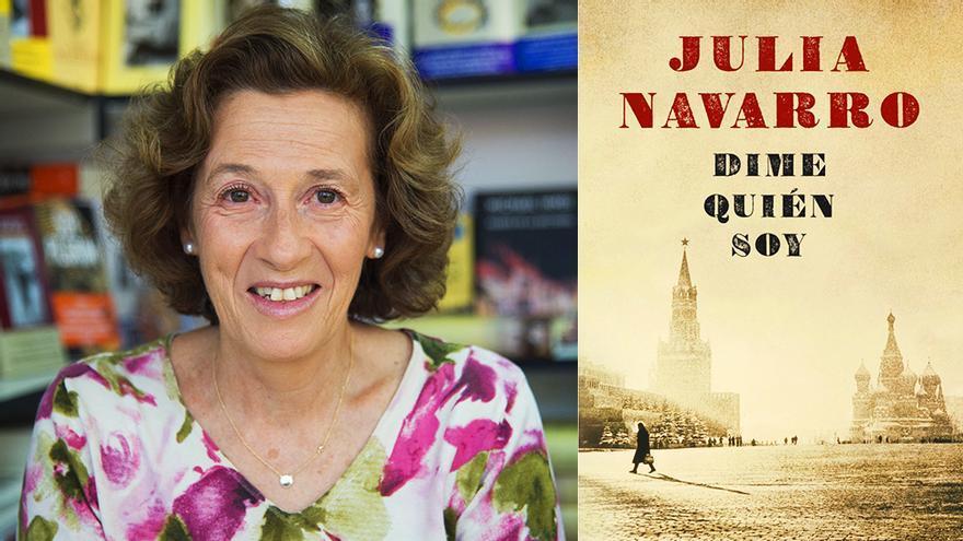 Julia Navarro, autora de Dime quién soy