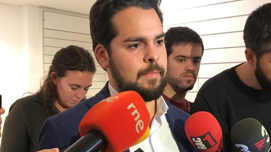 De Páramo (Cs) cree que Podemos y el PSC podrían pactar con ERC tras las elecciones