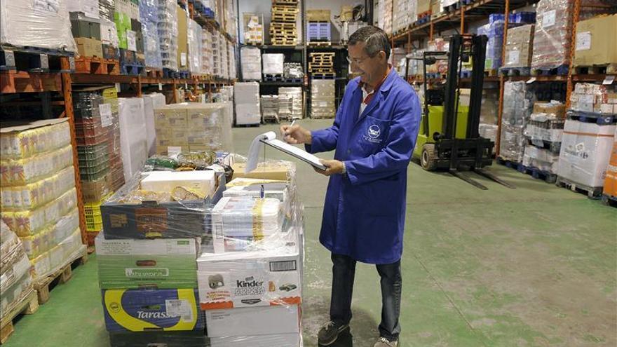 El Banc d'Aliments va repartir el 2012 un total de 10 tones de menjar.