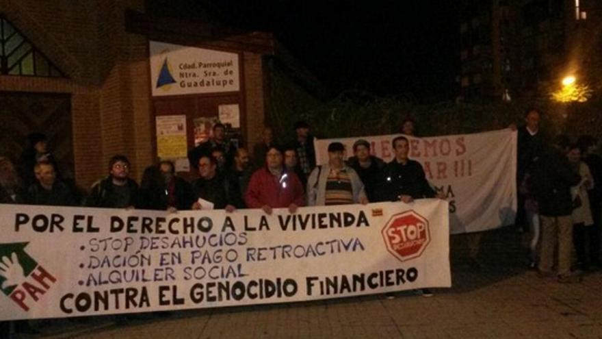 Movimientos sociales en Extremadura inician un encierro bajo el lema Pan,Trabajo y Techo / Twitter @AcampadaAlmendr