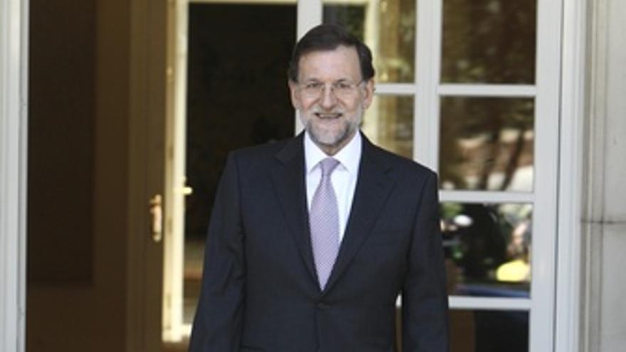 Mariano Rajoy, en Moncloa
