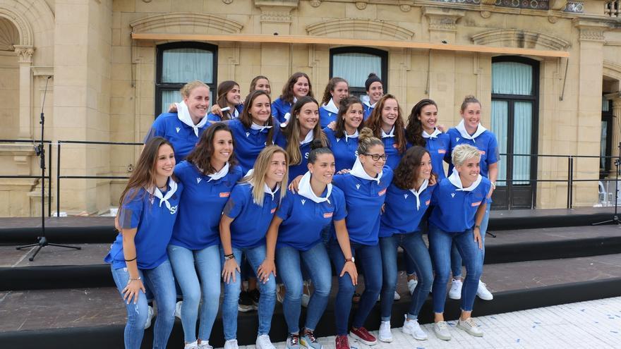 Los equipos femeninos de fútbol y hockey de la Real Sociedad, elegidos Tambor de Oro 2020