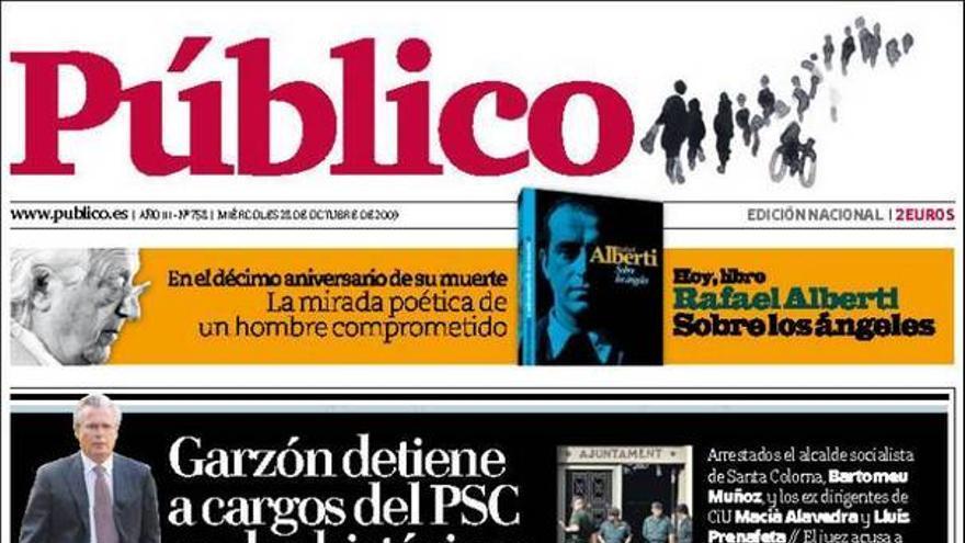 De las portadas del día (28/20/09) #5