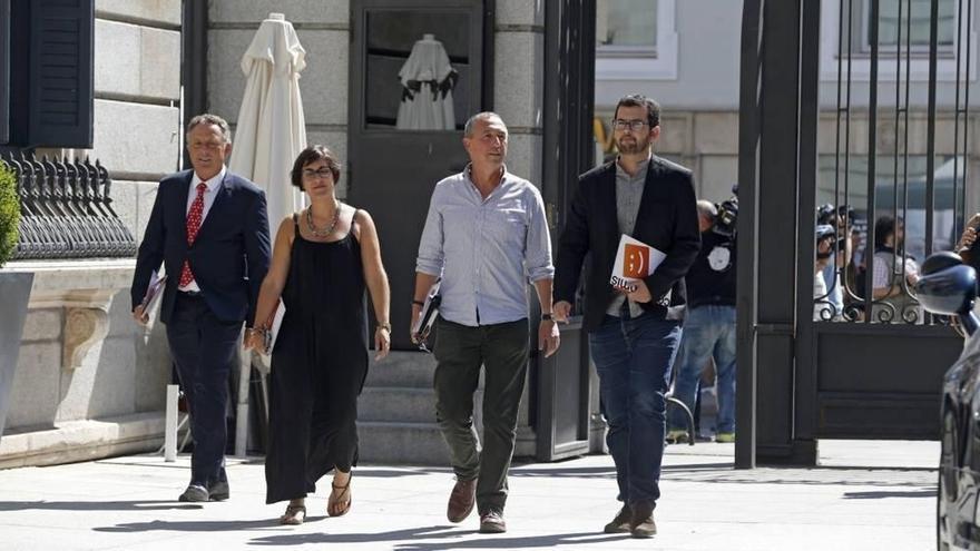 Compromís confía en Ciudadanos para forzar que Rajoy acuda al Congreso este verano por las reprobaciones de ministros