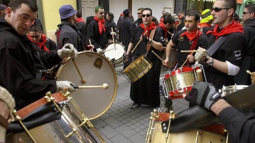 La Unesco rechaza la candidatura de las tamboradas como Patrimonio Inmaterial