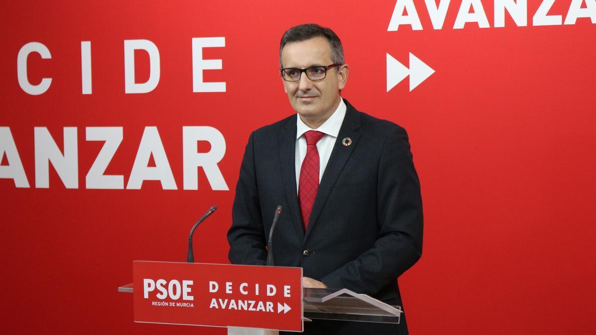 Archivo - Diego Conesa, secretario general del PSRM
