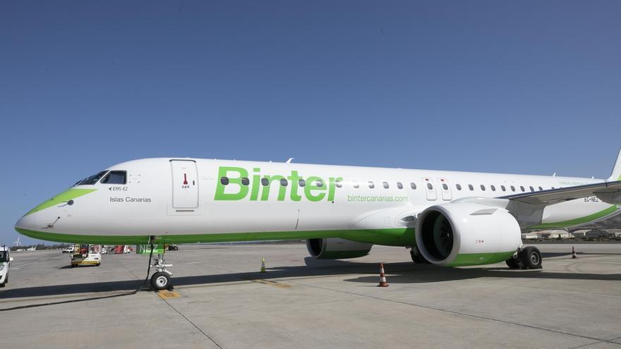 Binter pone a la venta sus vuelos entre Santander y Canarias, que comenzarán el 30 de marzo
