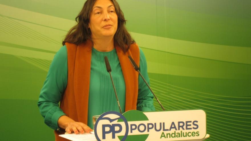 """El PP-A exige a Díaz que """"no se esconda"""" y diga """"si está de acuerdo"""" con la cesión de senadores a grupos """"separatistas"""""""