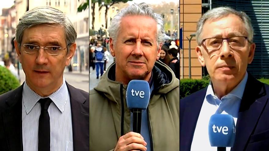 Miguel Ángel Idígoras, Lorenzo Milá y José Ramón Patterson