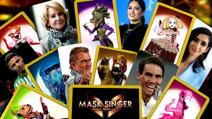 'Mask Singer': Qué famosos soñamos ver en su segunda edición en Antena 3