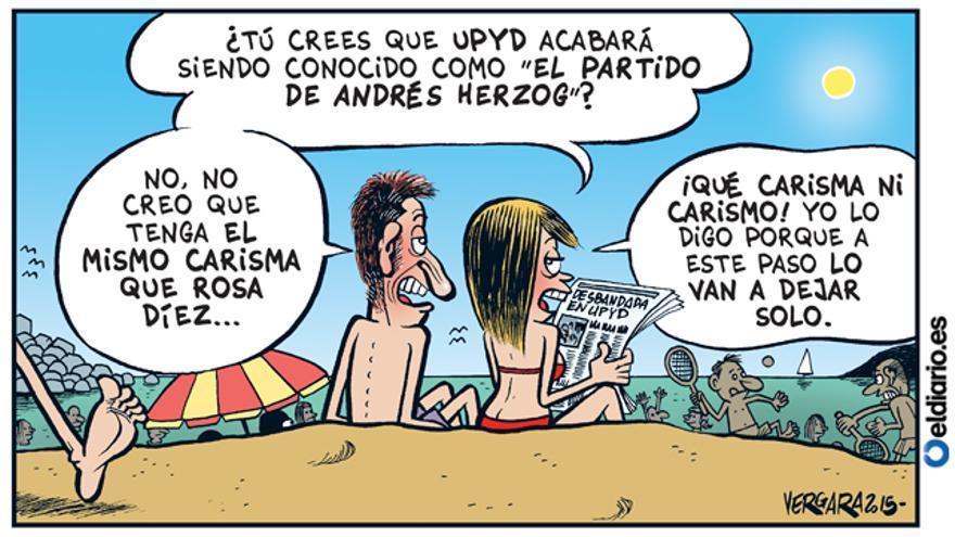 Desbandada en UPYD