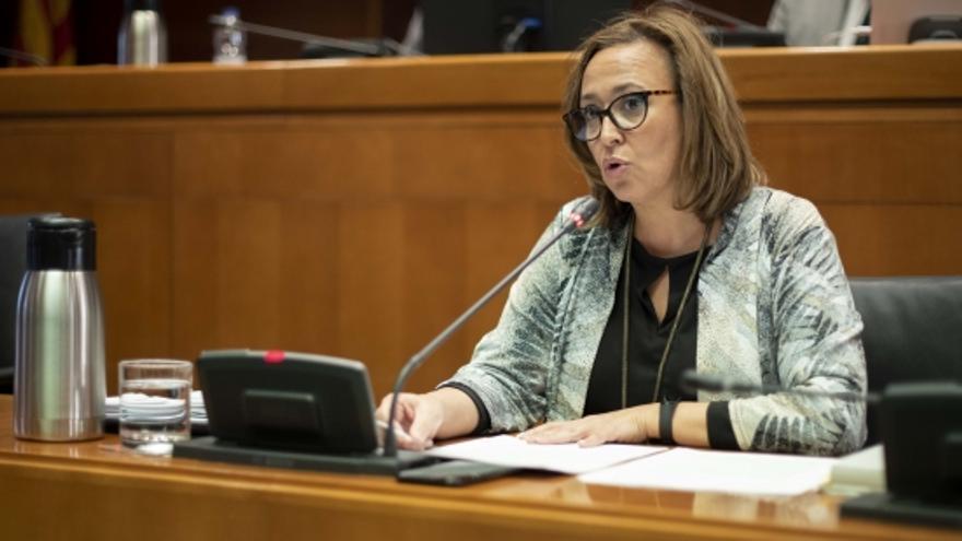 Mayte Pérez, consejera de Presidencia del Gobierno de Aragón.
