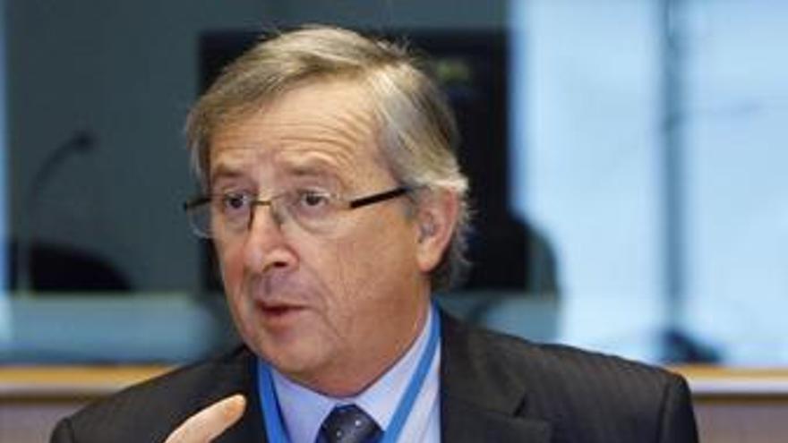 El presidente del Eurogrupo, Jean Claude Juncker