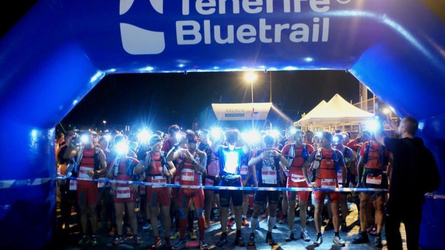 Imagen de una edición anterior de la Tenerife Bluetrail / Foto de Cabildo de Tenerife