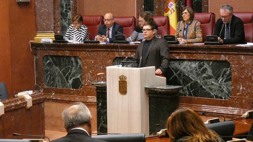 Andrés Pedreño, diputado regional de Podemos en la Comunidad de Murcia