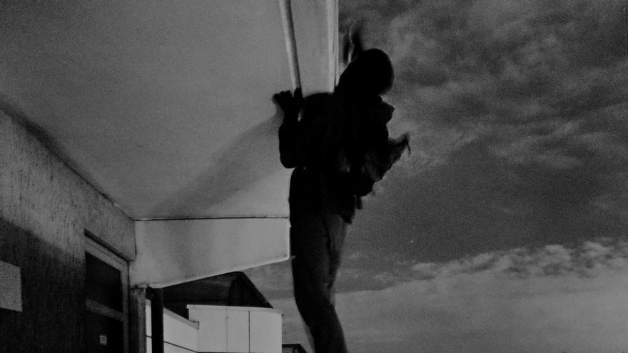 """""""Cuando estas bajo los efectos de la adrenalina ves que eso es fácil"""", explica el fotógrafo alemán Thomas von Wittich"""