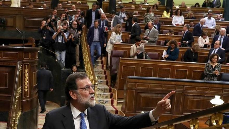 Rajoy, satisfecho porque los presupuestos hayan superado su primer trámite