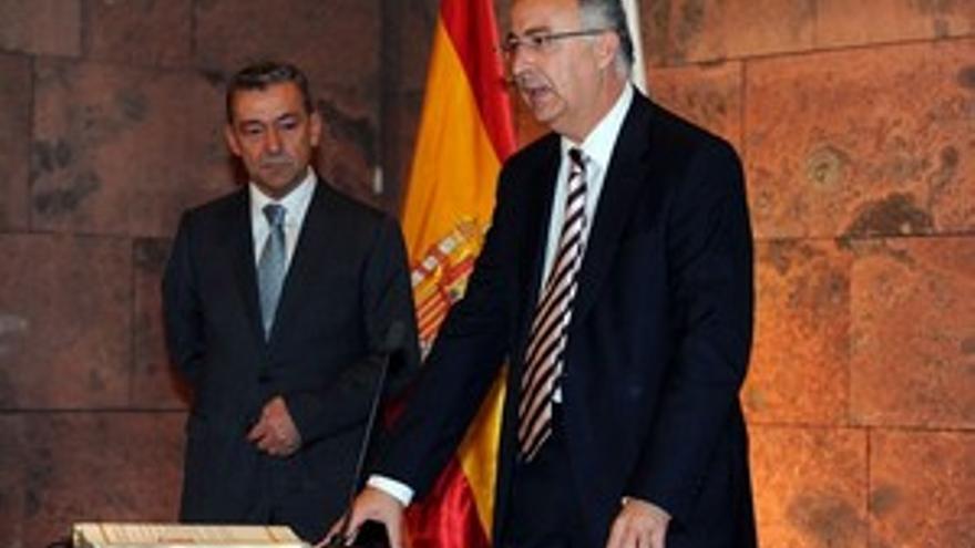 Francisco Hernández Spínola, en la toma de posesión. (ACFI PRESS)