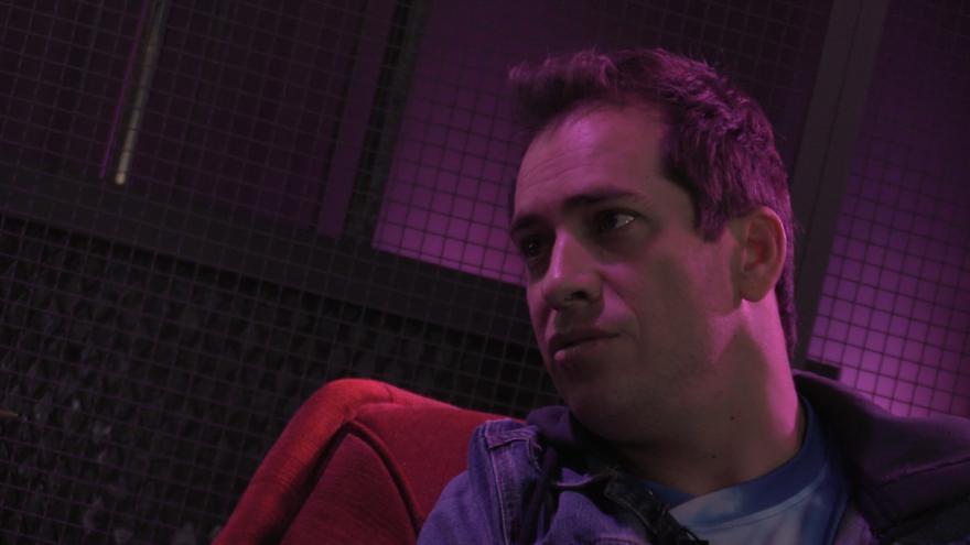 El Langui durante la entrevista