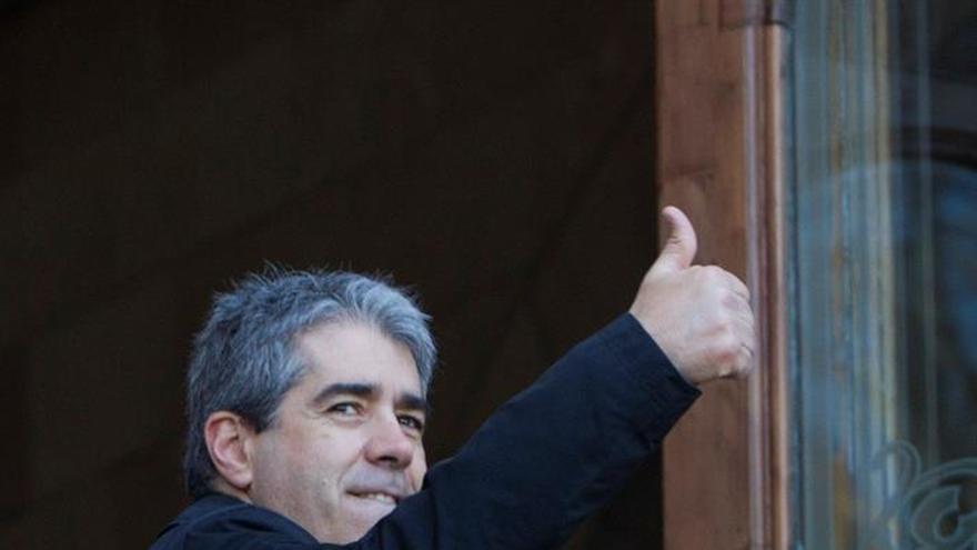 Homs declara voluntariamente ante el TSJC por el 9N arropado por el Govern