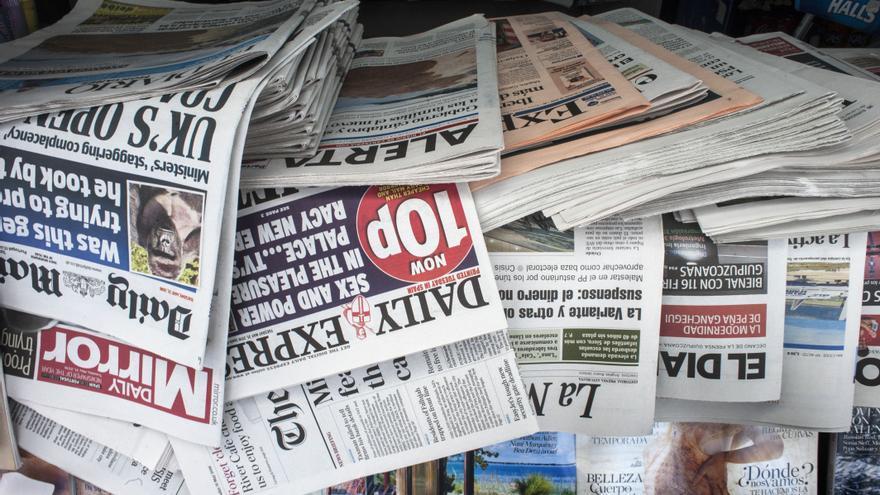 La prensa en papel sigue perdiendo lectores año tras año.   JOAQUÍN GÓMEZ SASTRE