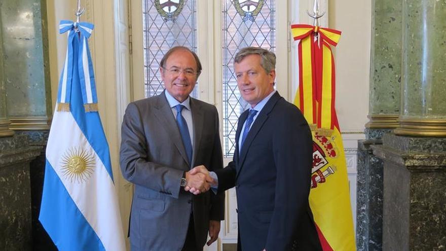 García-Escudero se reúne con el presidente de la Cámara de Diputados de argentina