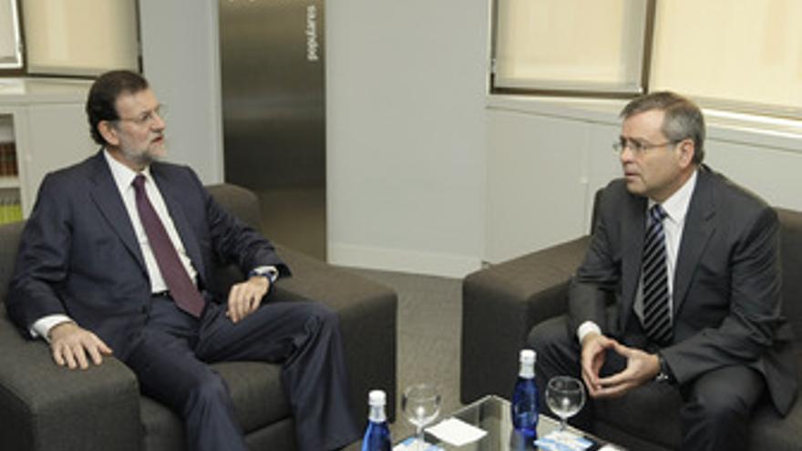 Reunión de Rajoy con Farmaindustria