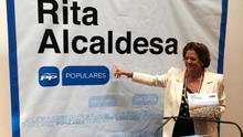 """Rita Barberá menosprecia los """"pactos de perdedores"""" que son """"antiPP"""""""