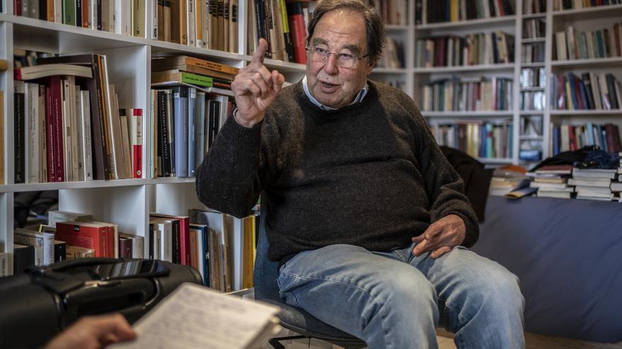 Francesc de Carreras responde a las preguntas de eldiario.es.