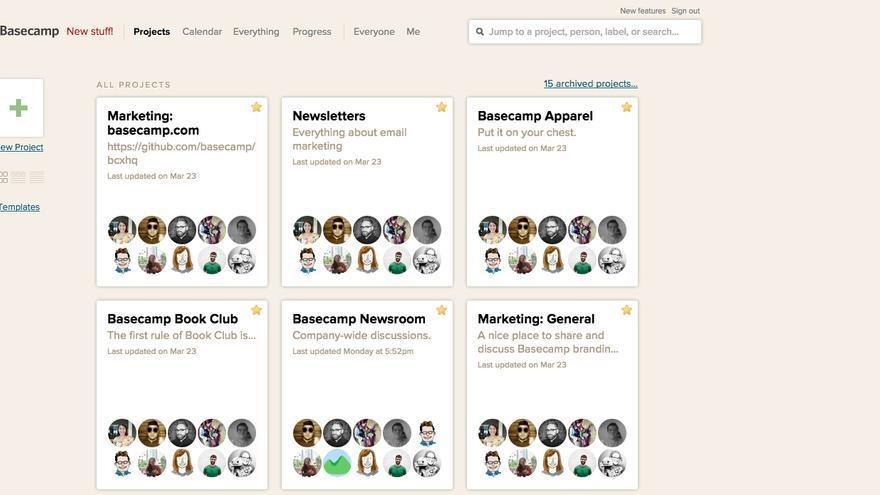 Basecamp es una de las herramientas que permite gestionar proyectos remotamente