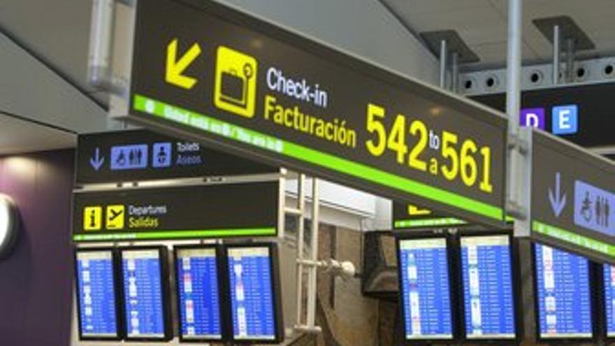 Aeropuerto de Barajas. (EUROPA PRESS)