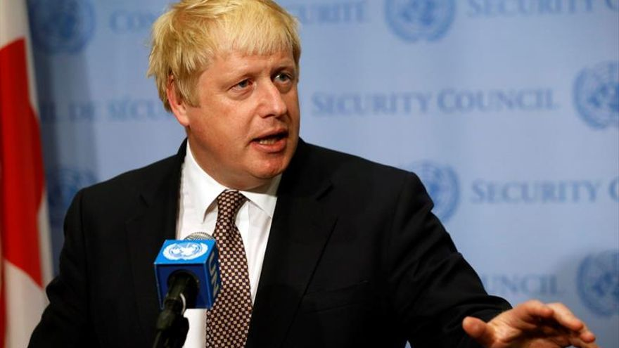 """Johnson dice que el R.Unido será más activo internacionalmente tras el """"brexit"""""""