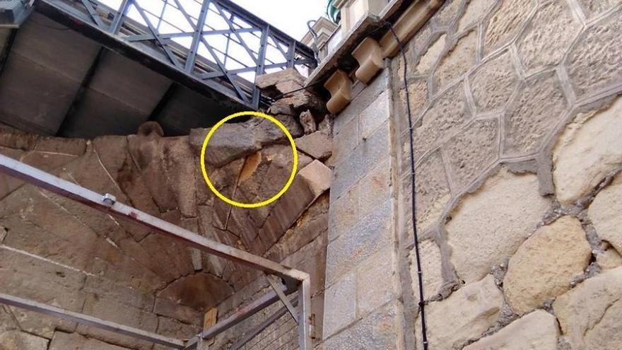 Desprendimientos en el Puente Viejo de Murcia (siglo XVIII)