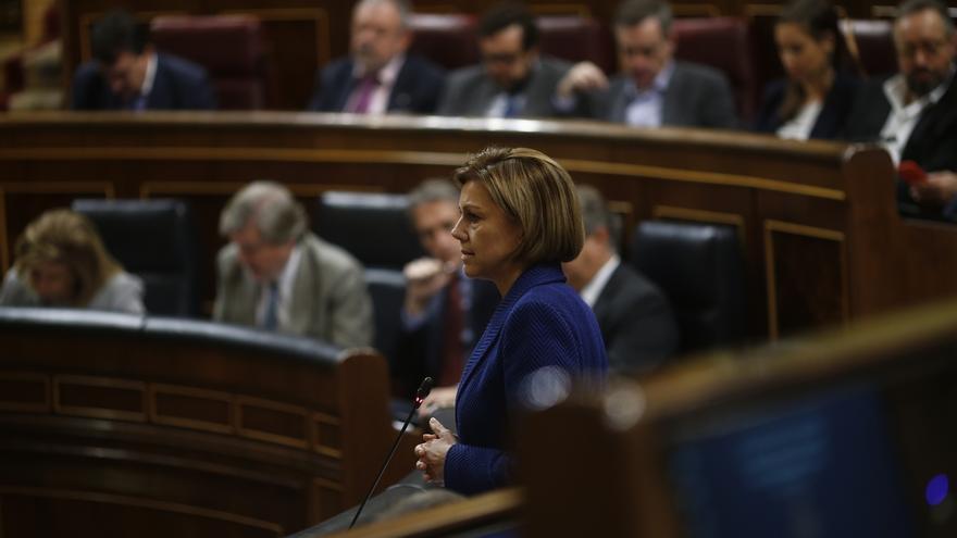 """Cospedal lamenta la muerte de Barberá, una mujer """"honrada"""" y """"honesta"""" y Maillo subraya que el PP """"le debe mucho"""""""
