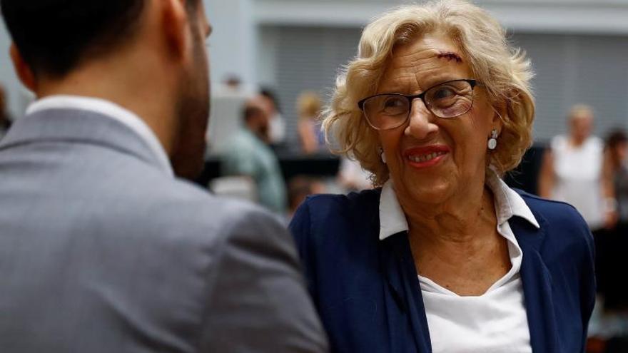 Manuela Carmena ofrece a Ángel Garrido el Palacio Valdés de Tres Cantos