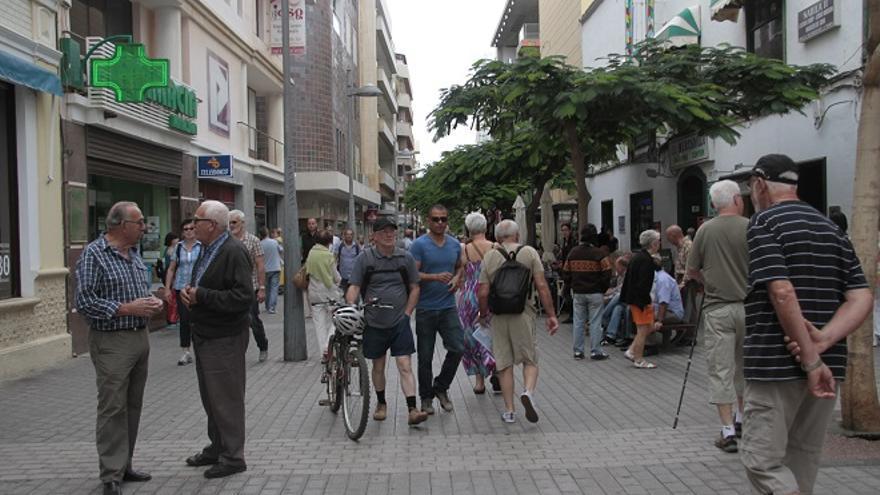 Calle Real de Arrecife. Foto: De la Cruz.
