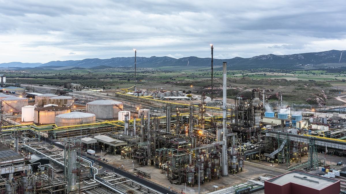 Complejo industrial de Puertollano de Repsol