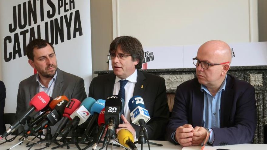 El TC avala que Puigdemont concurra a las europeas al rechazar el recurso de Cs